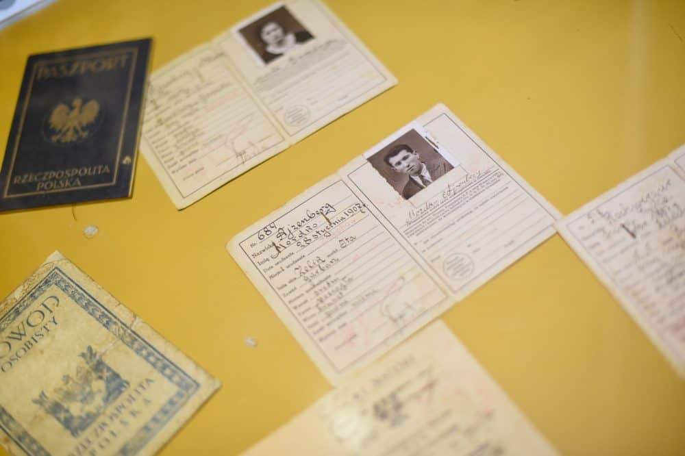 Passports from Jewish immigrants in Costa Rica are part of the Jewish Community Museum collection.