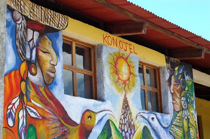 Located in San Marcos La Laguna, Guatemala, the Konojel center was founded in 2011.