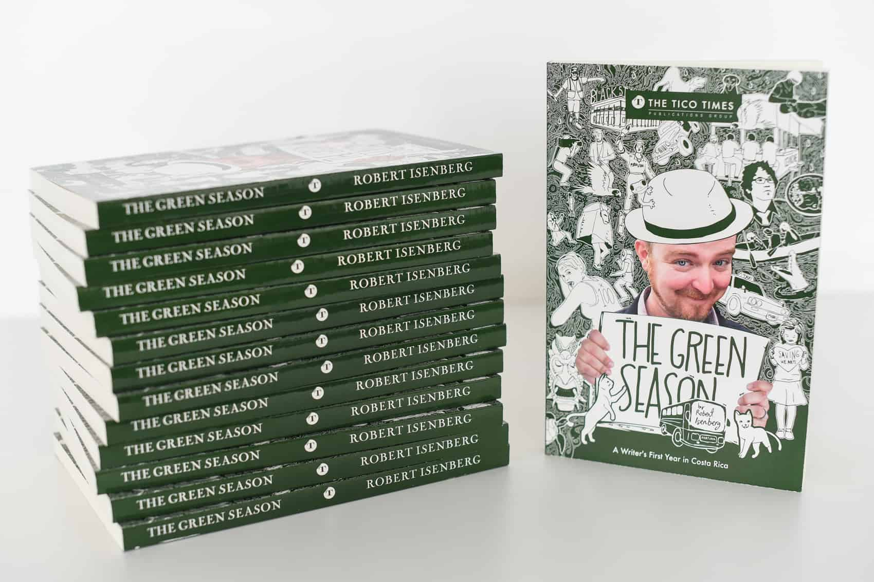 "Stacks of ""The Green Season"""