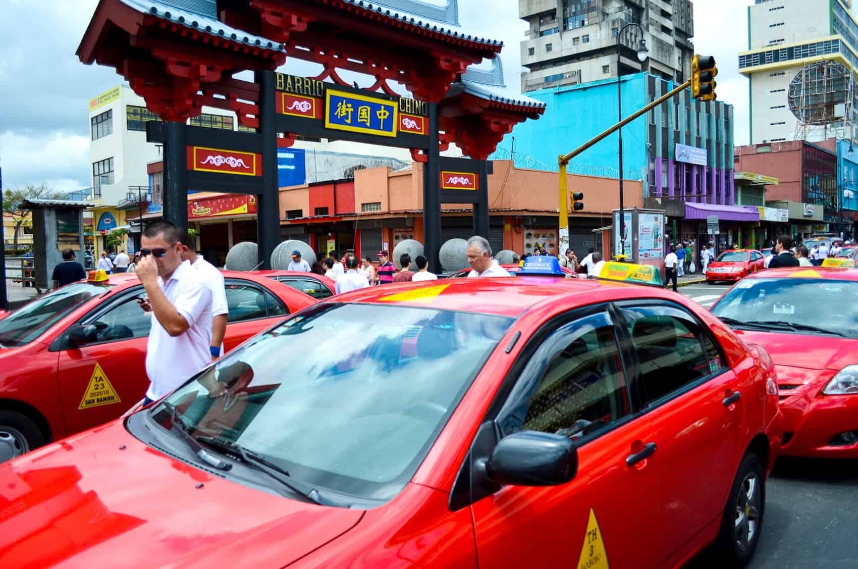 Taxis in San José