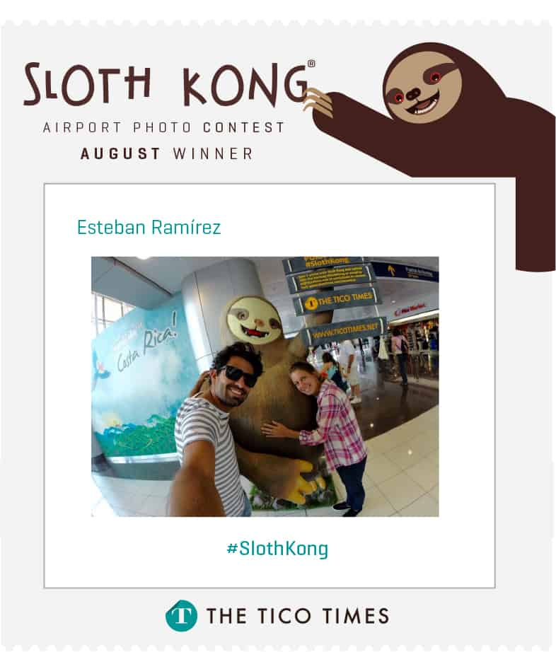 Sloth Kong photo contest winner