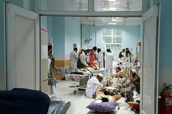 Doctors Without Borders bombing, Afghanistan.