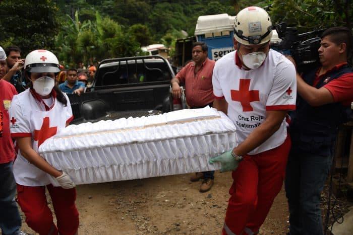Guatemala landslide victim.