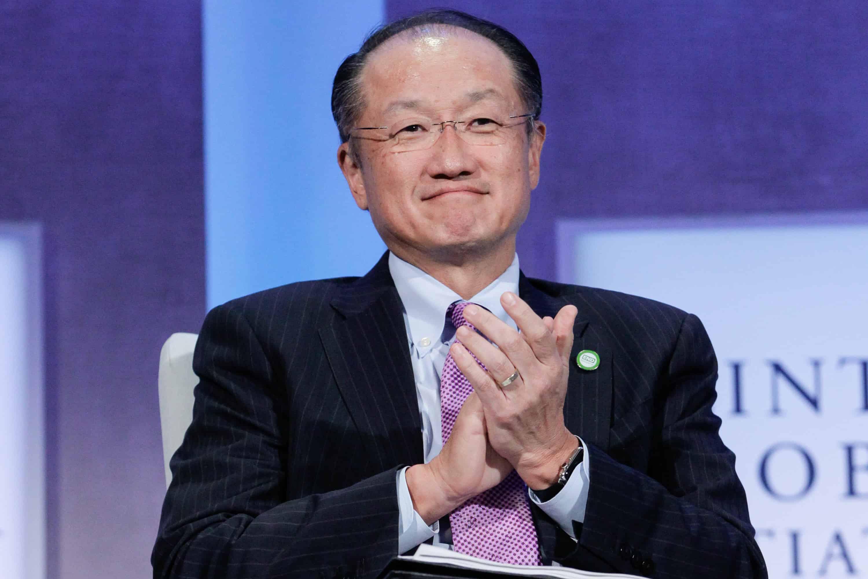 Jim Kim, World Bank president.