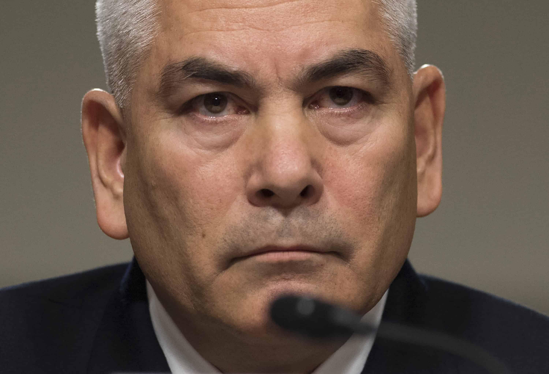 U.S. Army Gen. John Campbell, commander of the International Security Assistance Force (ISAF), U.S. Forces Afghanistan.