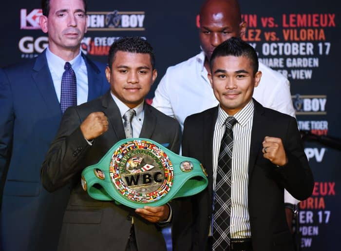 "Román ""Chocolatito"" González and Brian ""The Hawaiian Punch"" Viloria"