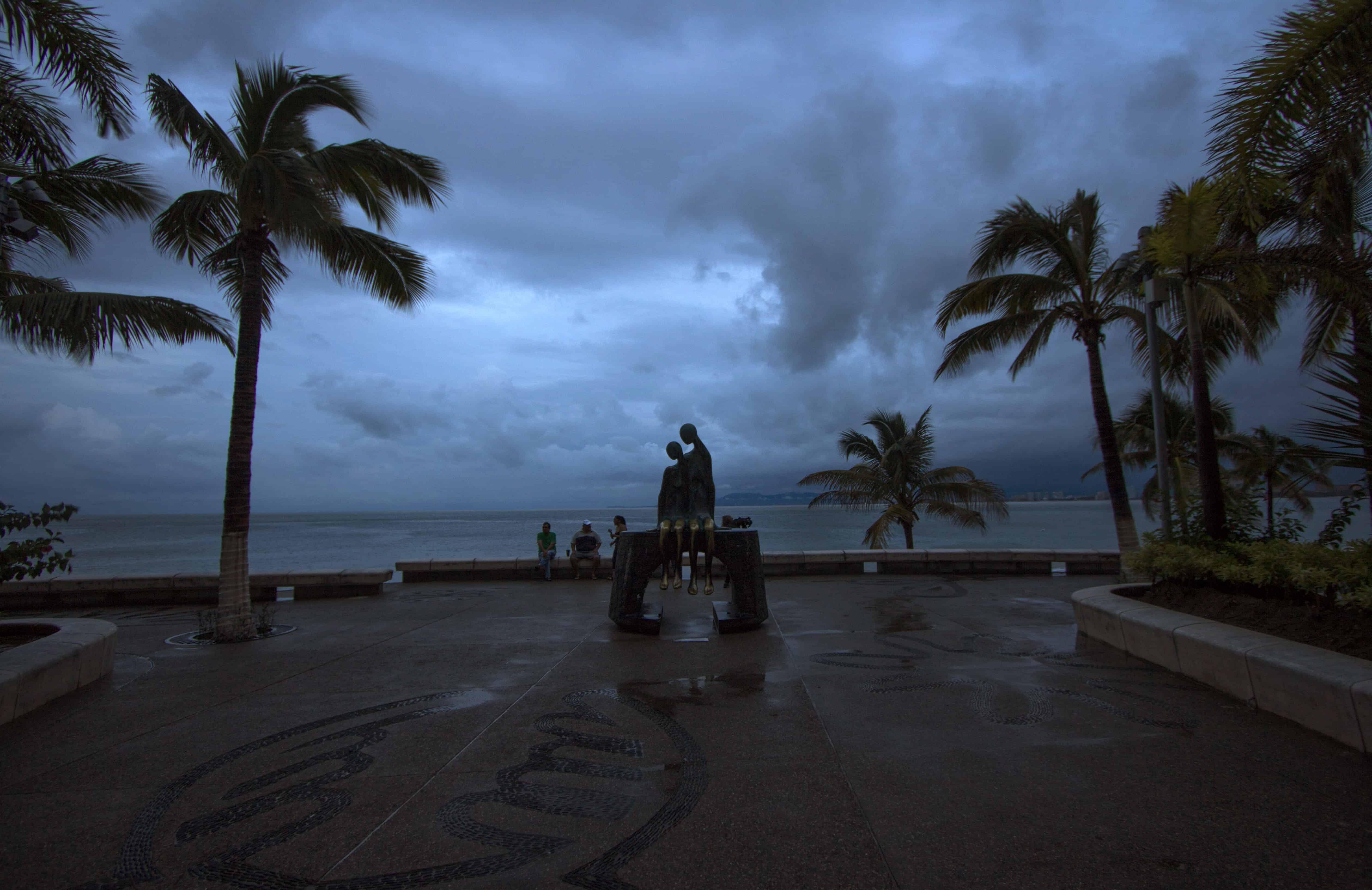 Hurricane Patricia in Mexico