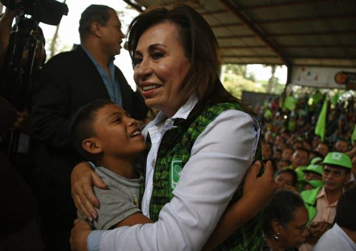 Guatemala elections, Sandra Torres