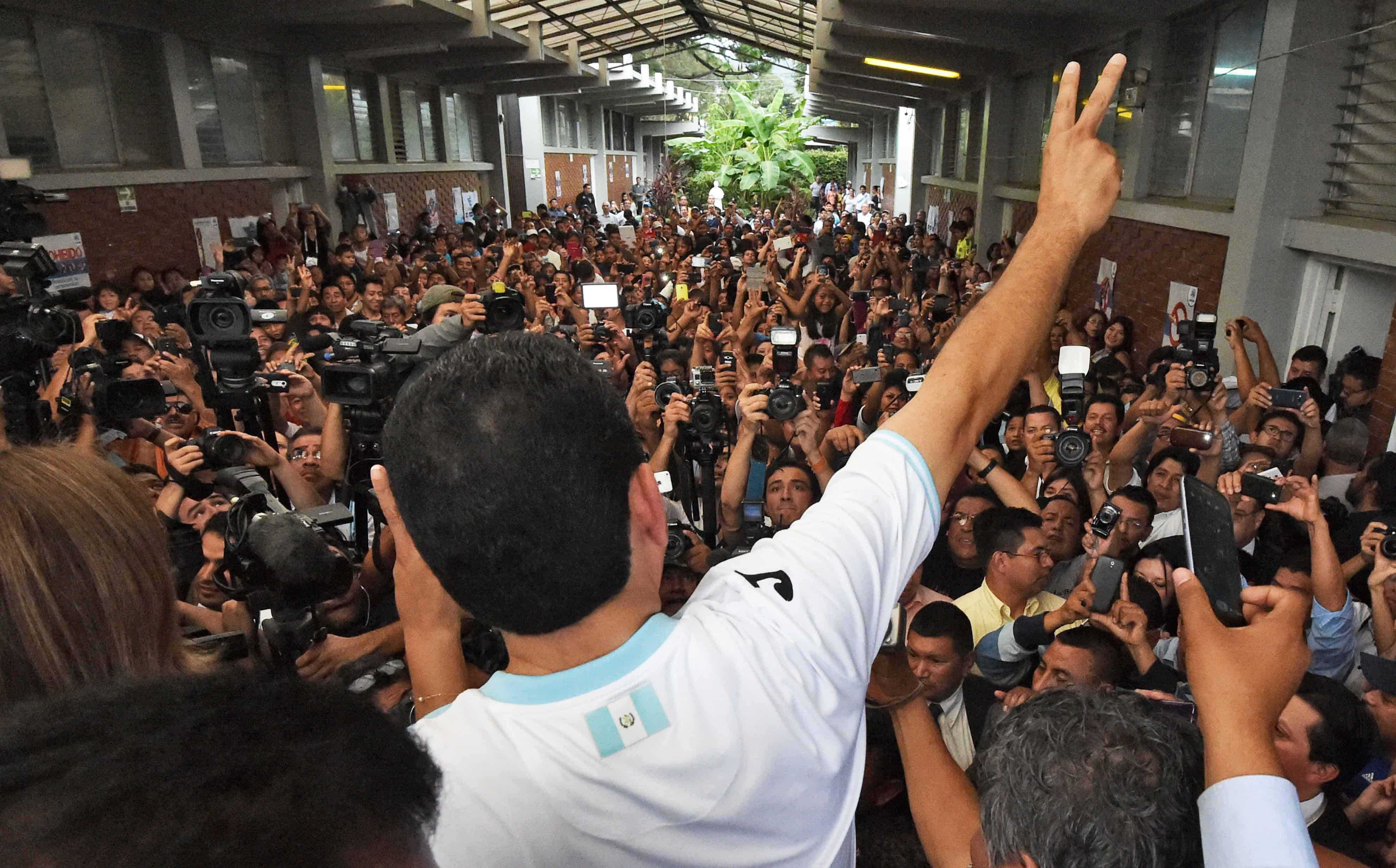 Guatemala elections, Jimmy Morales