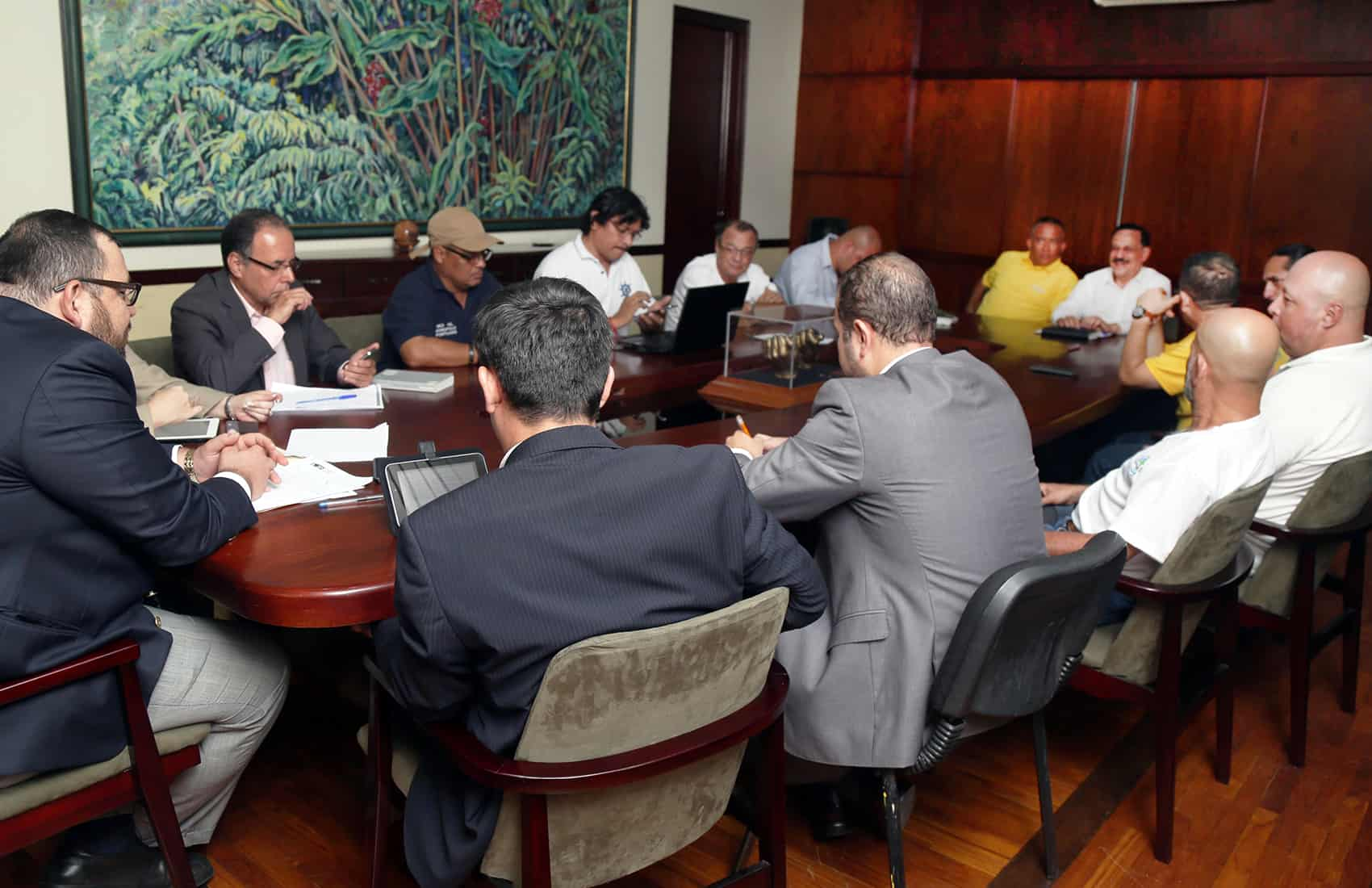 Costa Rica strike: Patria Justa, gov't meeting.