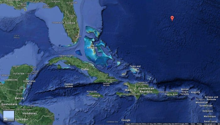 Cancun and Sargasso Sea