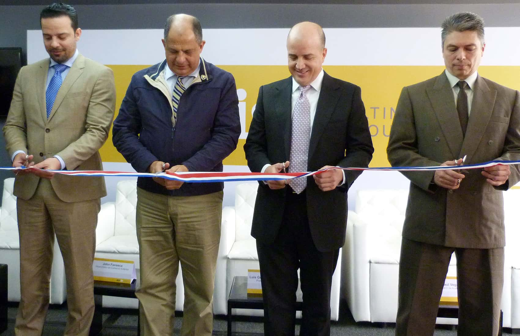 Inauguration of Auxis's new plant in Costa Rica. Oct. 30 2015.