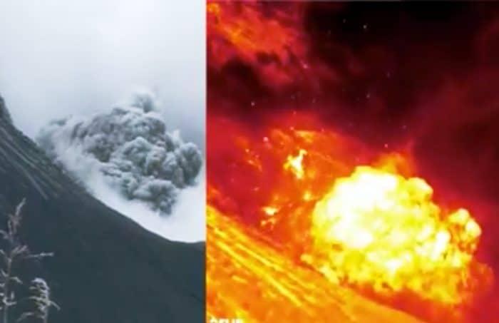 Explosion at Turrialba Volcano on Oct. 26, 2015.