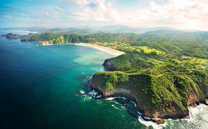 Nicaragua's Emerald Coast.