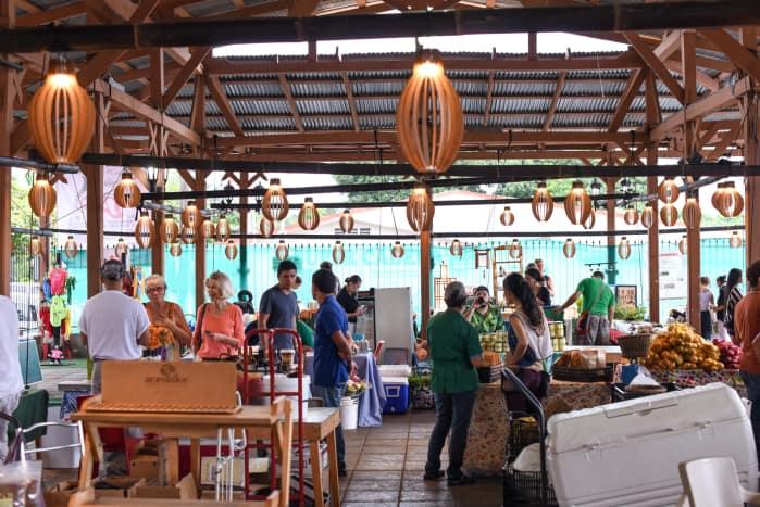 Feria Verde in Ciudad Colón.