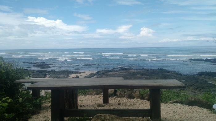 Playa Langosta view