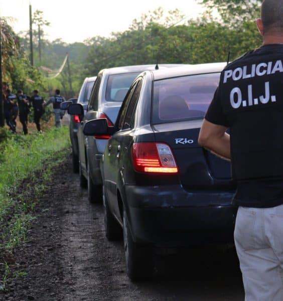 Cocaine trafficking raid
