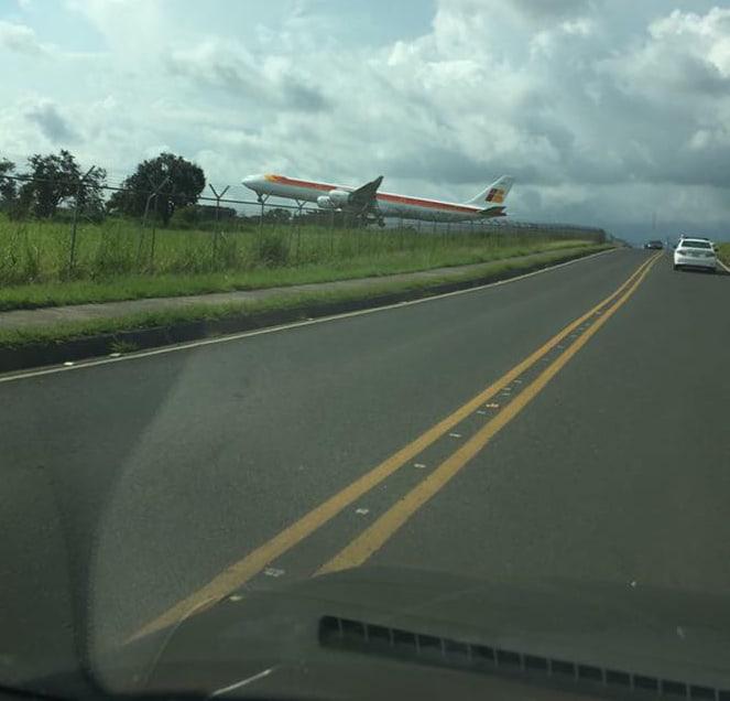 Iberia flight 6313 in Costa Rica