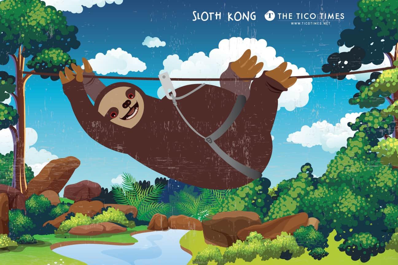 Sloth Kong