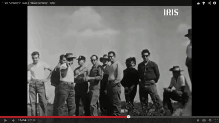 Photo said to show Lee Harvey Oswald, Frank Sturgis and Marita Lorenz.