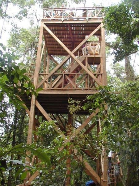 Hawkwatch tower at Kekoldi Scientific Center