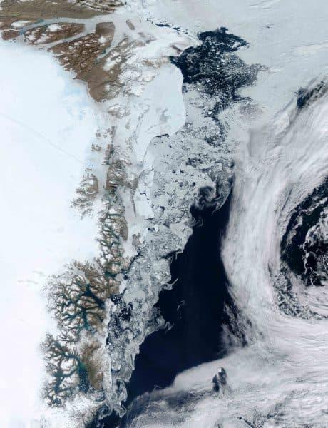 Zachariae glacier