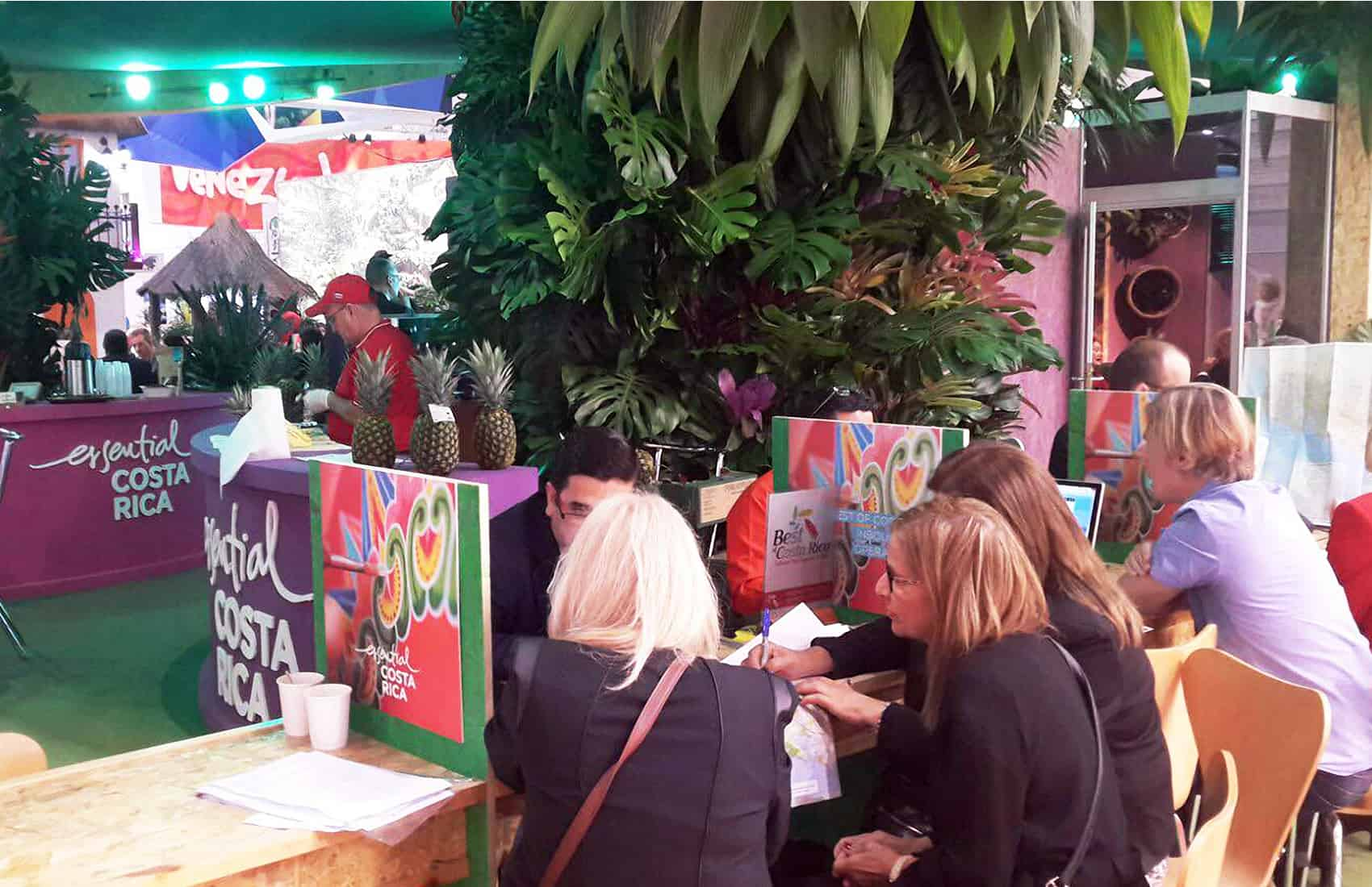 Costa Rica stand at London's World Travel Market 2015