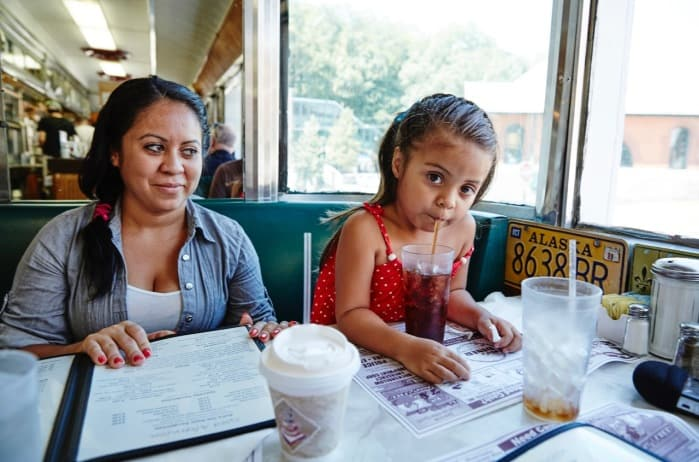 Central America Northern Triangle: Norma and daughter