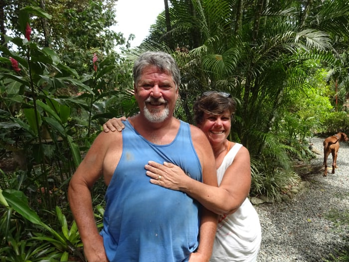 Nick Varnum and Janet Jones.