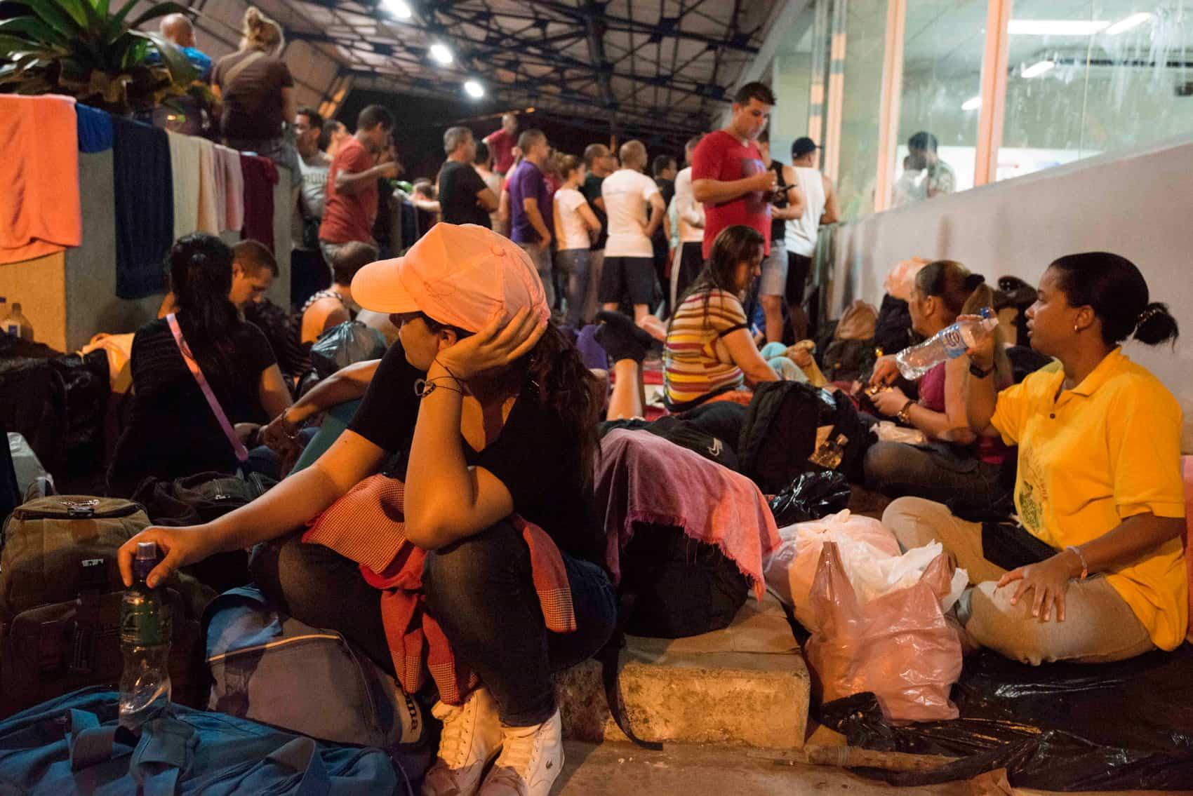 Cuban migrants: Ecuador visa Cubans