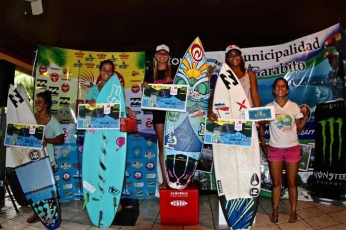 from left: Paula Duarte, Emily Gussoni, Leilani McGonagle and Lisbeth Vindez