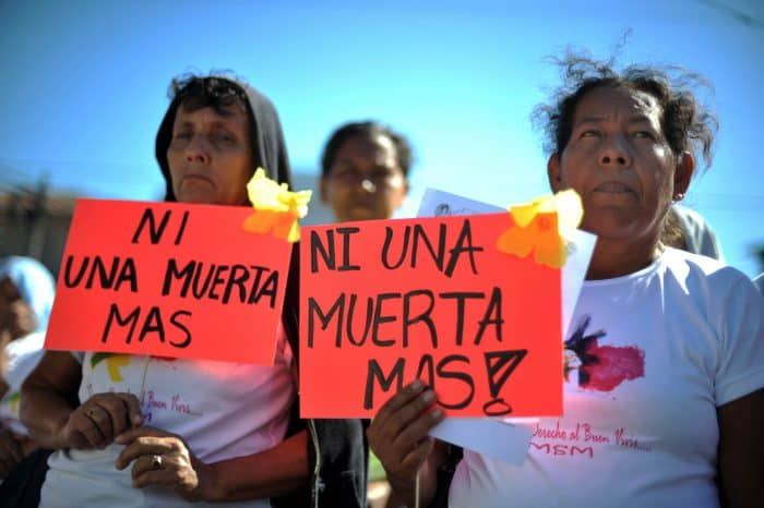 International Day for the Elimination of Violence Against Women, El Salvador