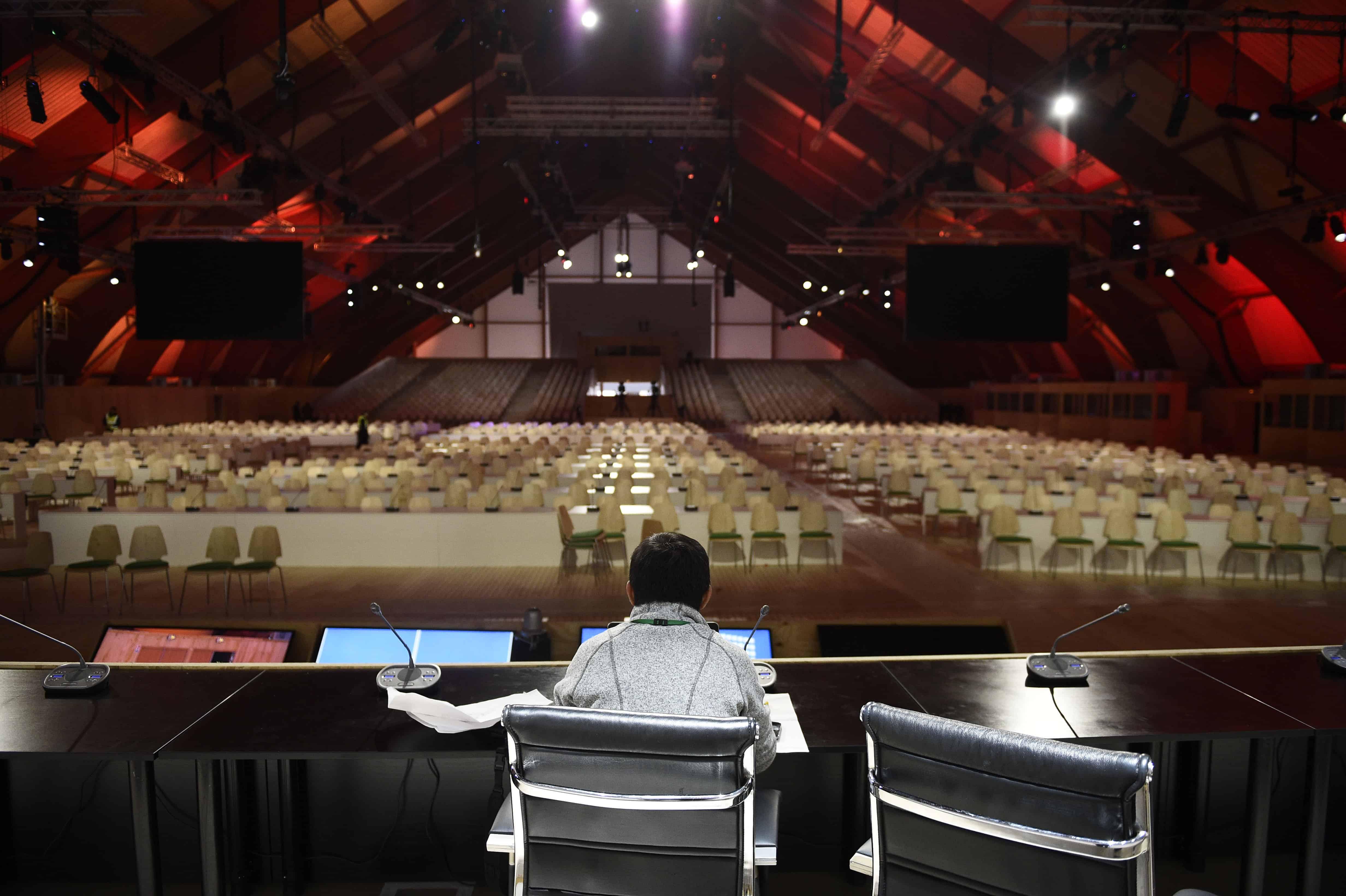 COP21 conference center, north of Paris
