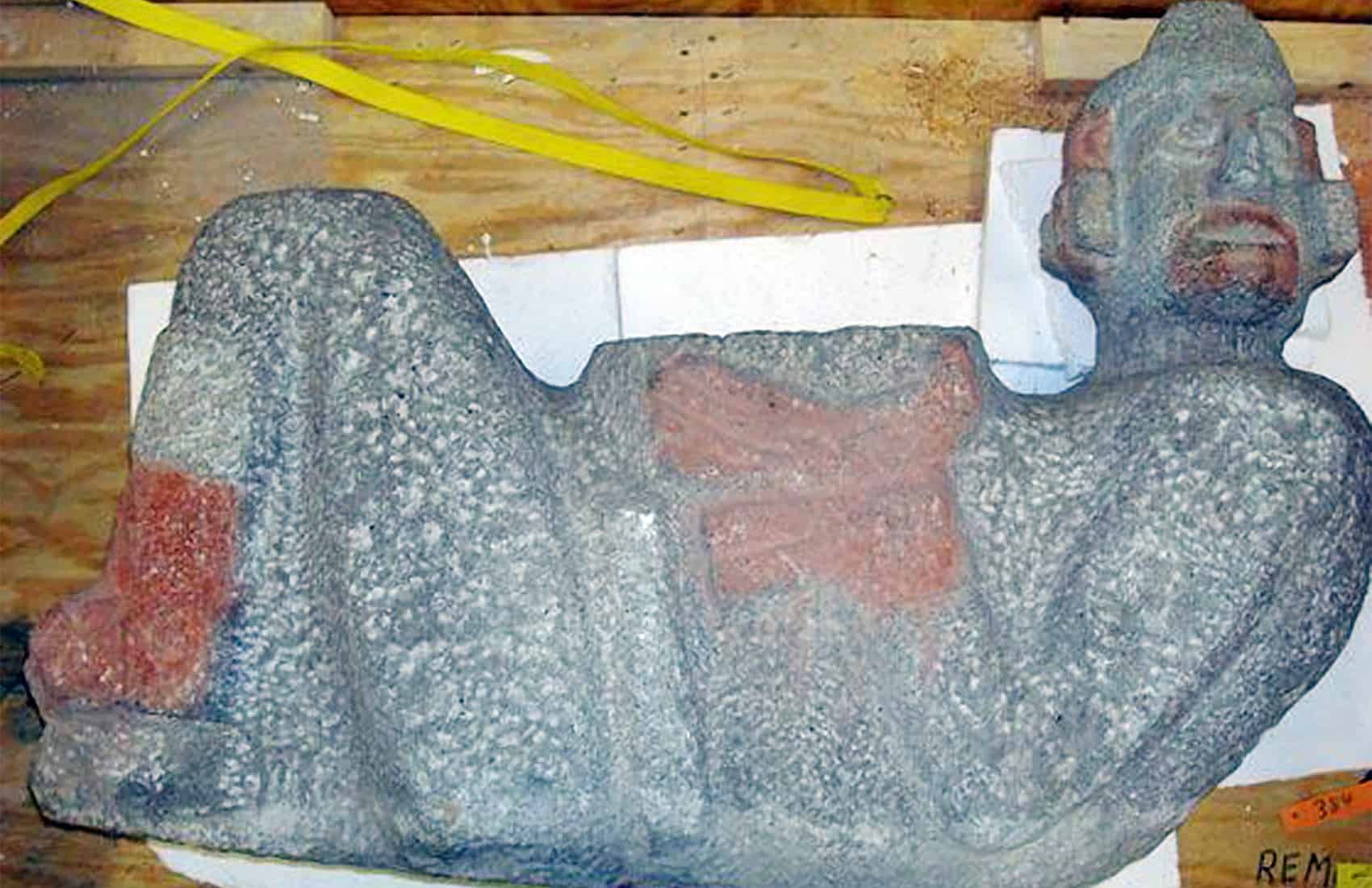 Chac mool Mexican artifact