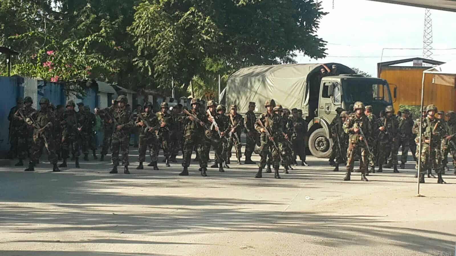 Cuban immigrants, Nicaraguan Army