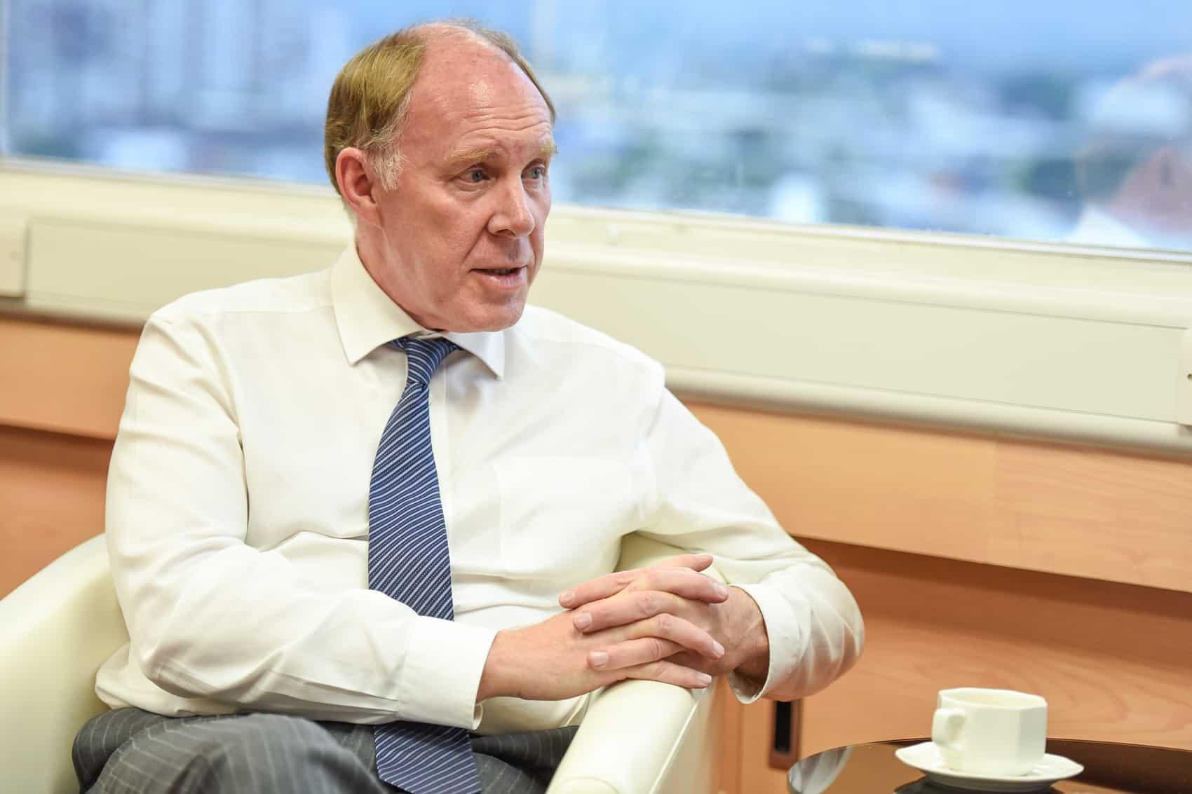 British Ambassador Ross Patrick Denny