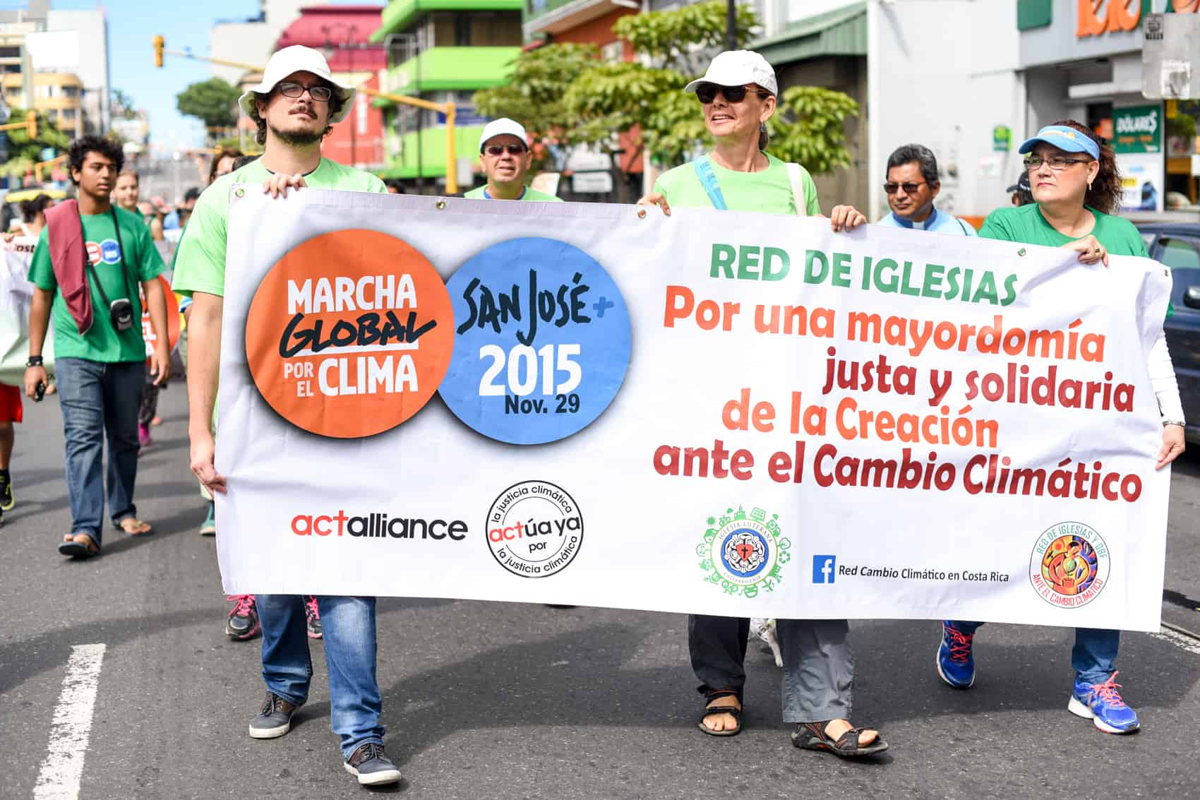 march against climate change