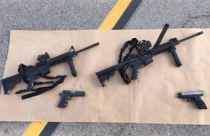 San Bernardino attack: weapons found