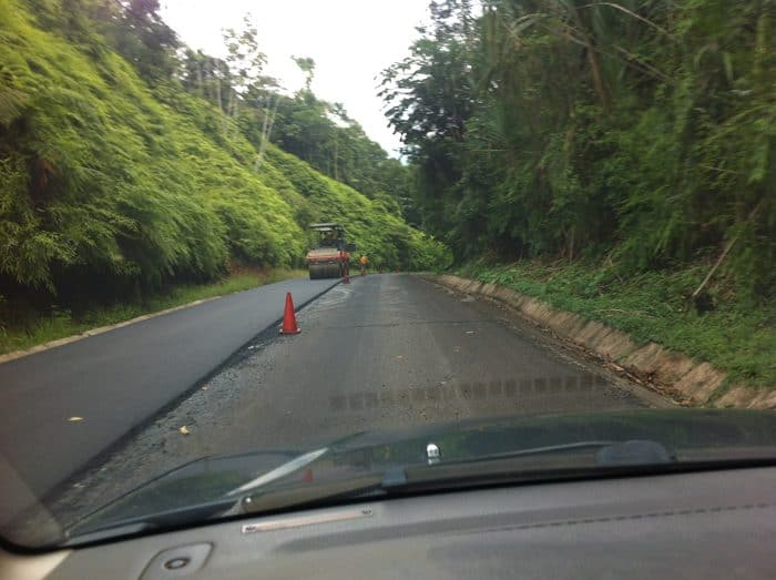 Night driving in Costa Rica: Bad idea, but it was