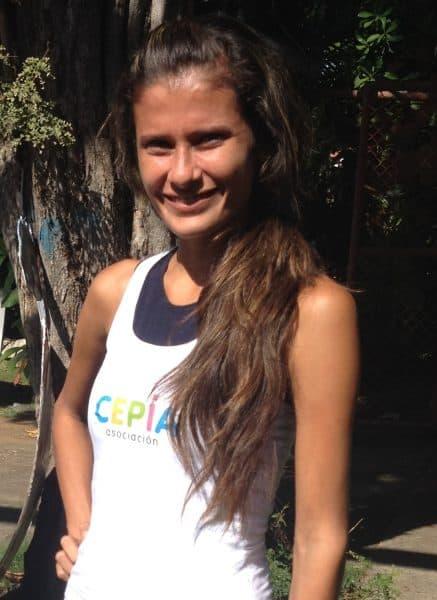 CEPIA participant Elizabeth, 19.