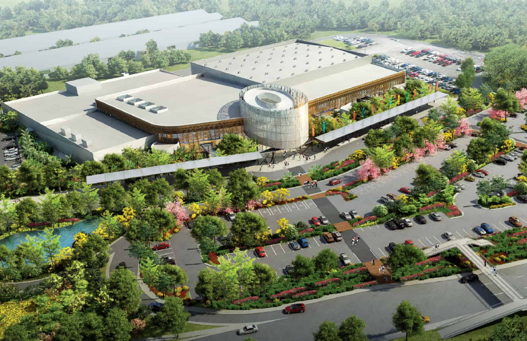 Render of the National Congress and Conventions Center
