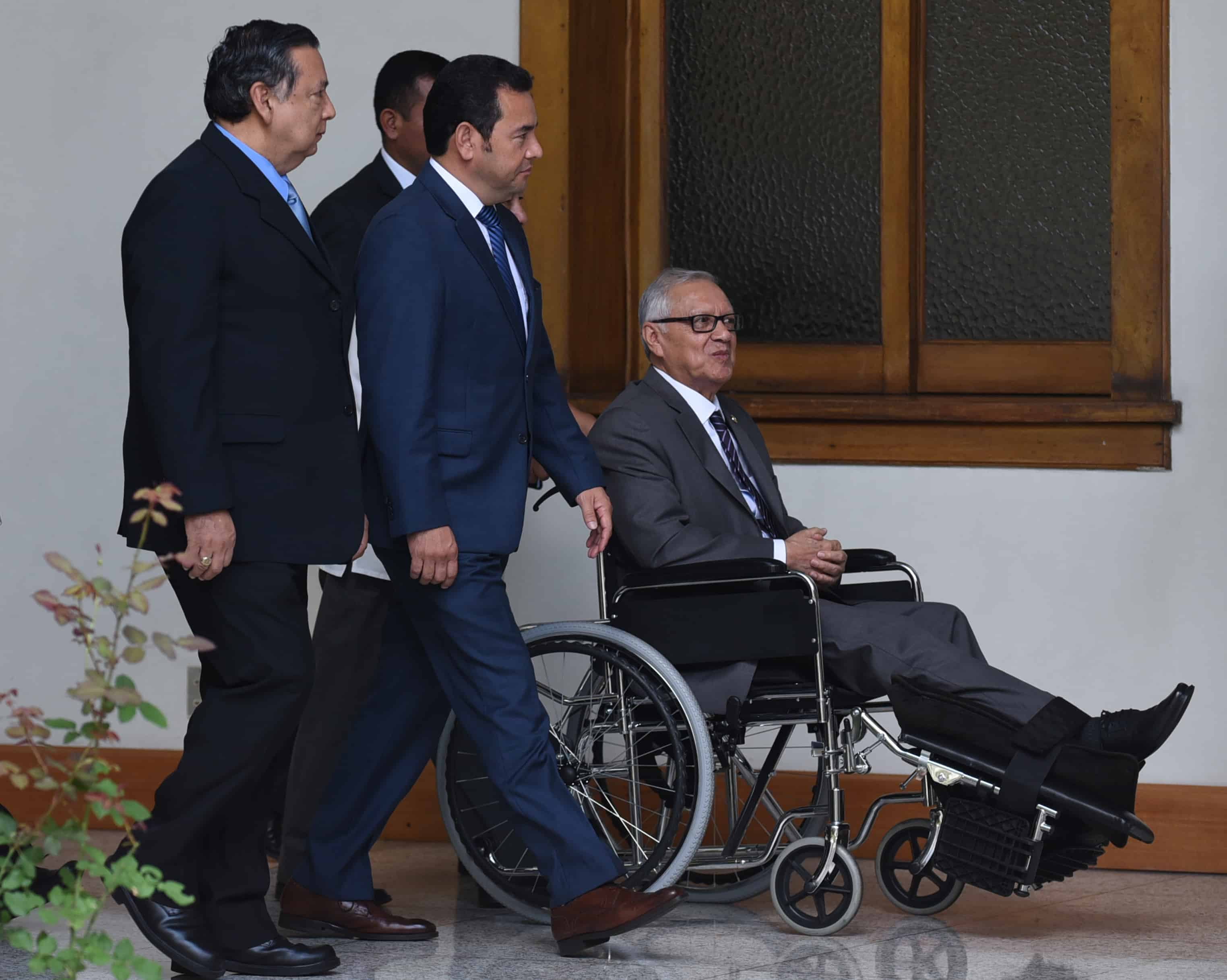 Guatemalan President-elect Jimmy Morales