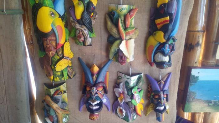Boruca masks.
