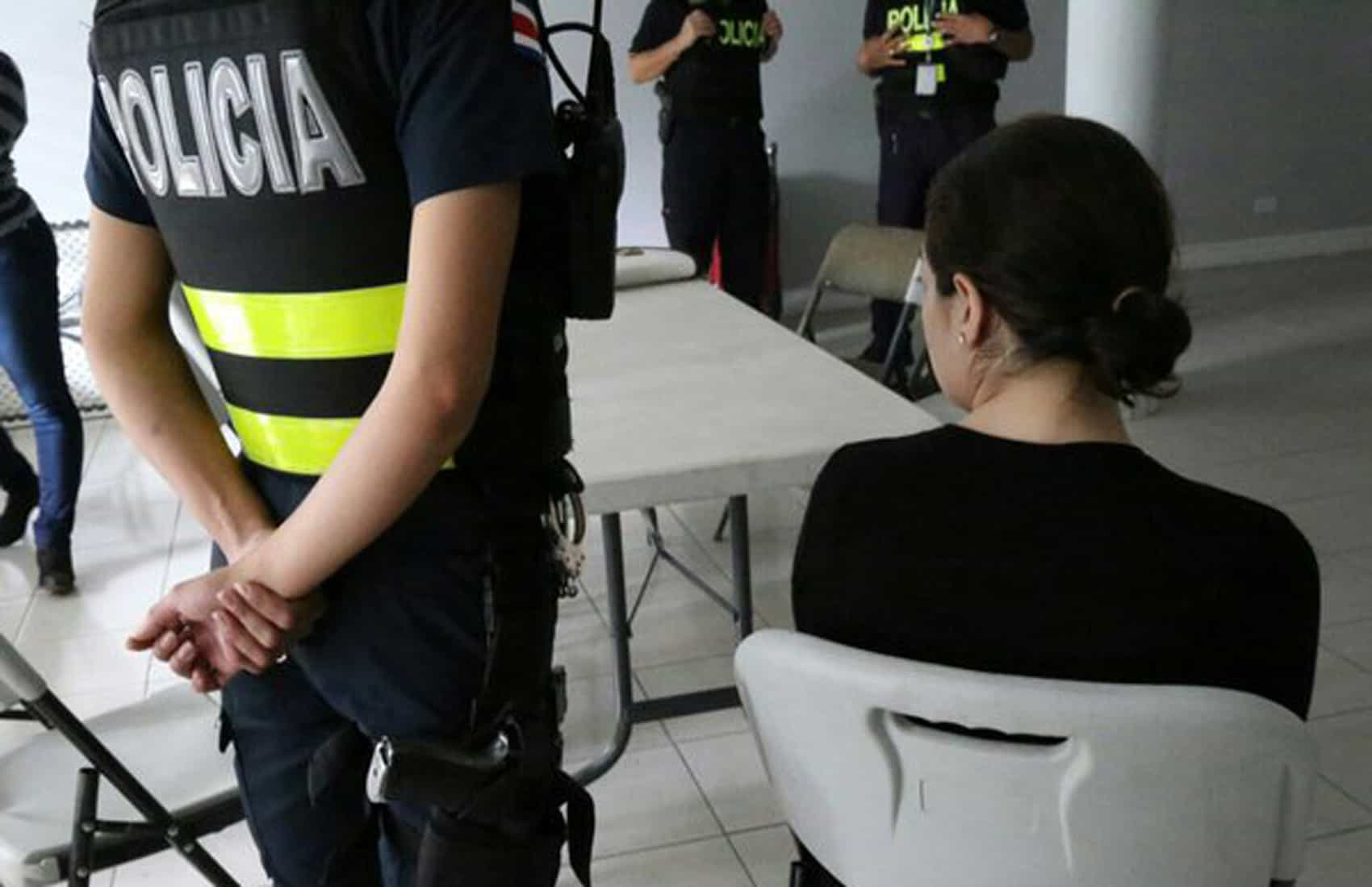 A 30-year-old Syrian woman and mother of two detained in San José, Costa Rica