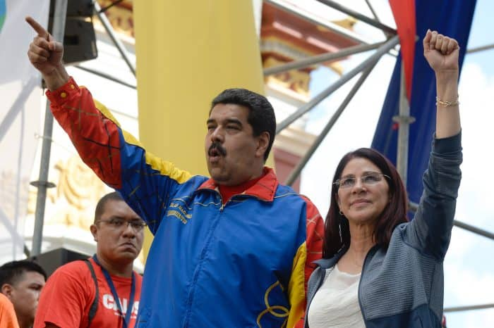 Venezuela drug trafficking: Venezuelan President Nicolás Maduro and first lady Cilia Flores.