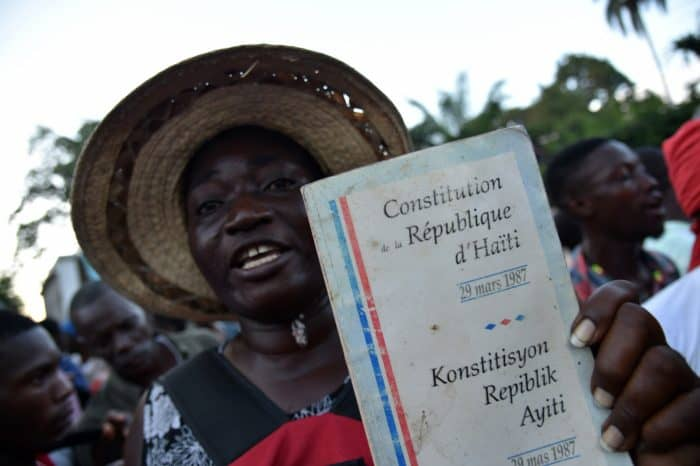 Haiti elections protest