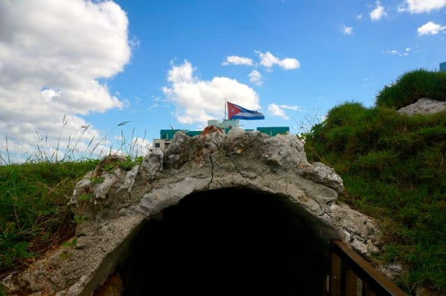 Onsite tunnels were used in espionage efforts during the Cuban Missile Crisis.