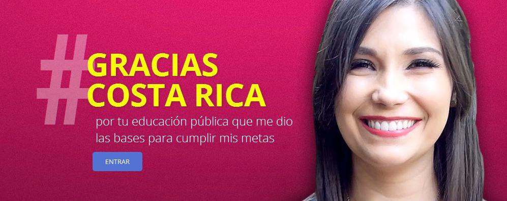 Gracias Costa Rica campaign