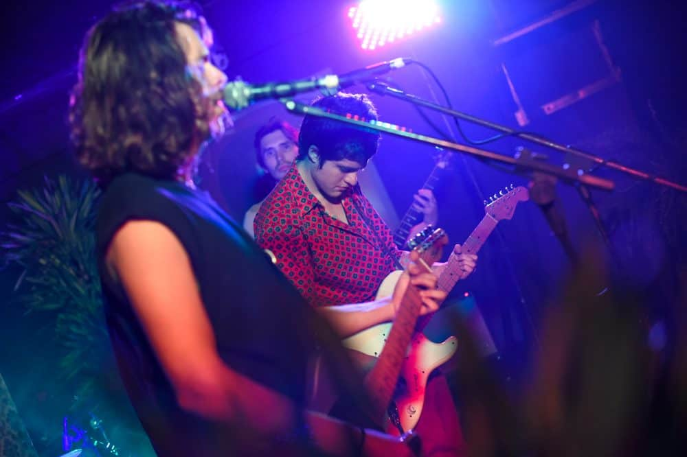 Síndrome de Estocolmo performs at the Hoxton Pub in Los Yoses, December 3, 2015.