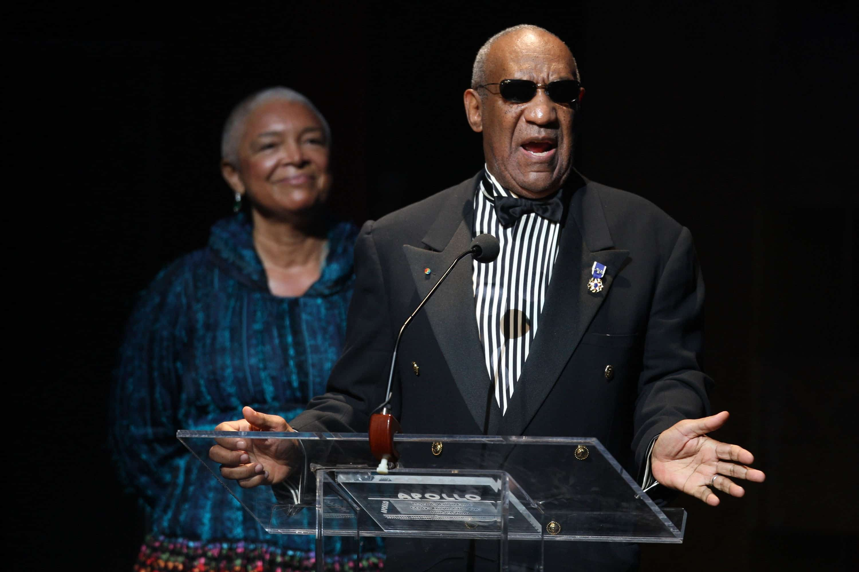 Bill Cosby and Camille Cosby in 2009.